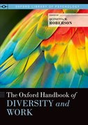 Cover for The Oxford Handbook of Diversity and Work