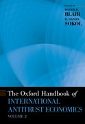 Cover for The Oxford Handbook of International Antitrust Economics, Volume 2