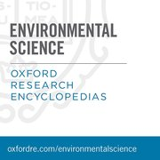 Cover for Oxford Research Encyclopedias: Environmental Science