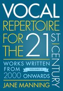 Cover for Vocal Repertoire for the Twenty-First Century, Volume 2 - 9780199390977