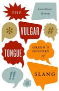 Cover for The Vulgar Tongue
