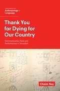 Cover for Thank You for Dying for Our Country