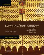 Cover for Sources for Patterns of World History:  Volume One to 1600