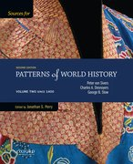Cover for Sources for Patterns of World History: Volume Two Since 1400