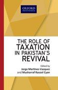 Cover for The Role of Taxation in Pakistan