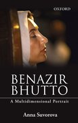 Cover for Benazir Bhutto