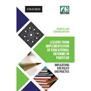 Cover for Lessons from Implementation of Educational Reforms in Pakistan