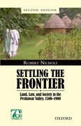 Cover for Settling the Frontier