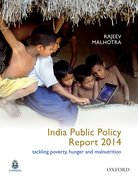 Cover for India Public Policy Report 2014
