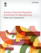 Cover for Survey on Business Regulatory Environment for Manufacturing