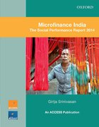 Cover for Microfinance India : The Social Performance Report 2014