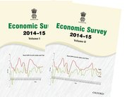 Cover for ECONOMIC SURVEY 2014a15