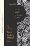 Cover for Ethics and Epics