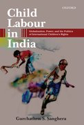 Cover for Child Labour in India - 9780199466801