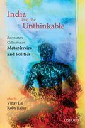 Cover for India and the Unthinkable - 9780199466863