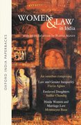 Cover for Women and Law in India