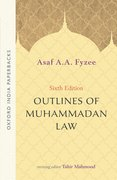 Cover for Outlines of Muhammadan Law