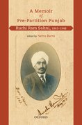 Cover for A Memoir of Pre-Partition Punjab