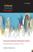 Cover for Economic Growth with Social Justice