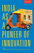 Cover for India as a Pioneer of Innovation