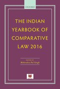 Cover for The Indian Yearbook of Comparative Law 2016