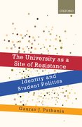 Cover for The University as a Site of Resistance