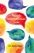 Cover for Private International Law