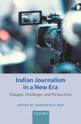 Cover for Indian Journalism in a New Era