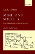 Cover for Mind and Society