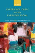 Cover for Experience, Caste, and the Everyday Social