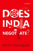 Cover for Does India Negotiate?