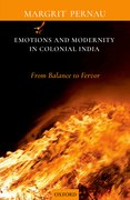 Cover for Emotions and Modernity in Colonial India