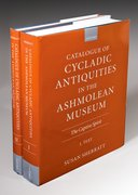 Cover for Catalogue of Cycladic Antiquities in the Ashmolean Museum