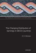 Cover for The Changing Distribution of Earnings in OECD Countries