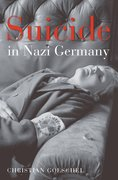 Cover for Suicide in Nazi Germany