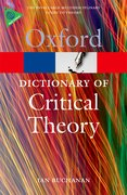Cover for A Dictionary of Critical Theory