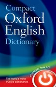 Compact Oxford English Dictionary of Current English Third edition revised