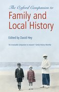 Cover for The Oxford Companion to Family and Local History