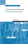 Cover for Civil Procedure and EU Law