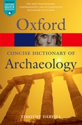 Cover for Concise Oxford Dictionary of Archaeology
