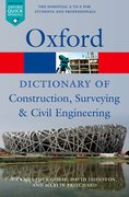 A Dictionary of Construction, Surveying, and Civil Engineering