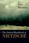 Cover for The Oxford Handbook of Nietzsche