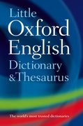 Cover for Little Oxford Dictionary and Thesaurus