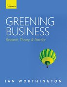 Cover for Greening Business