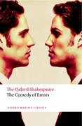 Cover for The Comedy of Errors: The Oxford Shakespeare