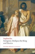 Cover for Antigone, Oedipus the King, Electra