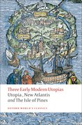 Cover for Three Early Modern Utopias