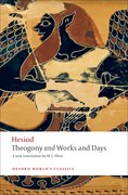 Cover for Theogony <em>and</em> Works and Days