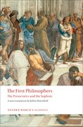 Cover for The First Philosophers