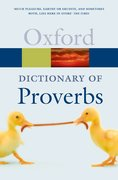 Cover for A Dictionary of Proverbs